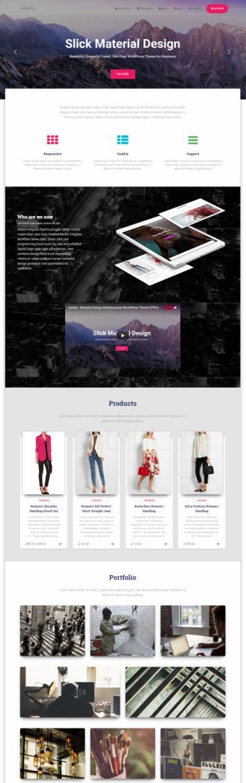 Hestia Pro ThemeIsle Review – Material Design Business Theme