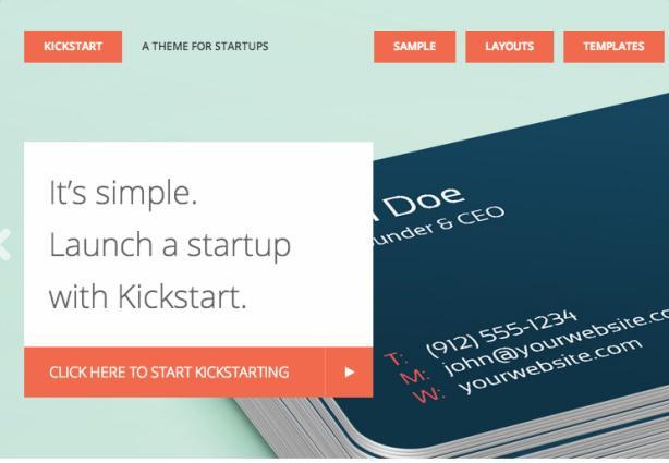 Kickstart Pro - Header Slider Featured Section