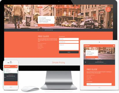 Kickstart - Responsive genesis business theme