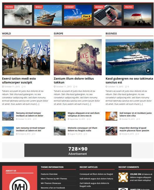 MH Magazine Featured Posts - Homepage