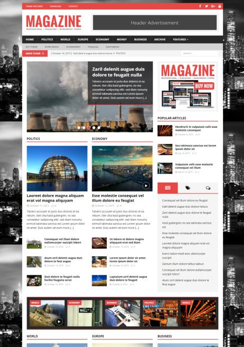 MH Magazine WP Theme - MH Themes Review | WORTH ?