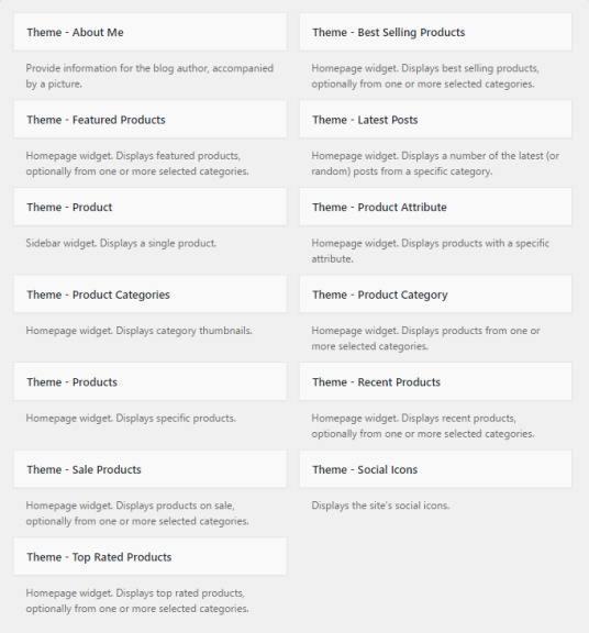 Neto Custom Widgets - Homepage