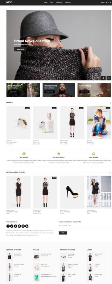 Neto CSSIgniter – Premium WordPress WooCommerce Shop Theme