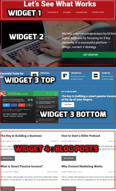 Smart Passive Income Pro Homepage Widgets