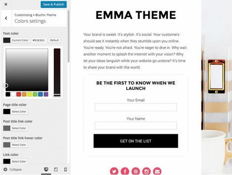 Emma Customizer