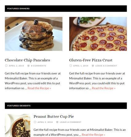 Featured Posts - Daily Dish Pro WordPress Theme