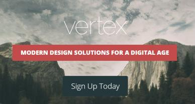 Header Featured Calls To Action - Vertex Elegant Themes