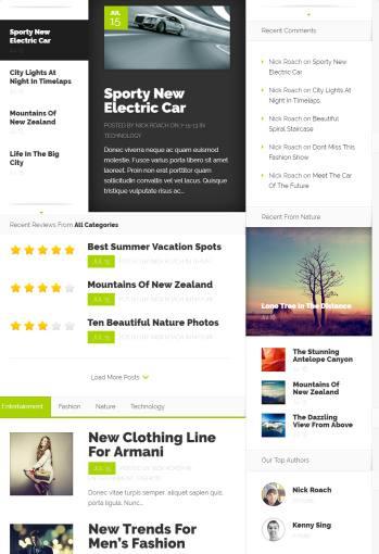 Nexus Homepage - Featured Category Modules