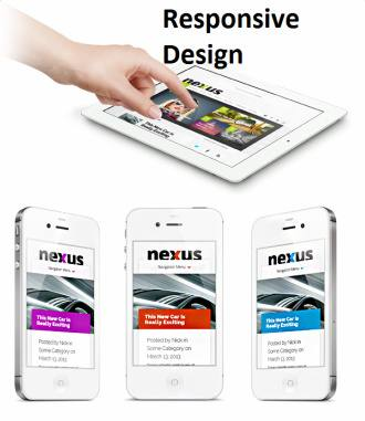 Responsive Magazine News WordPress Theme - Nexus