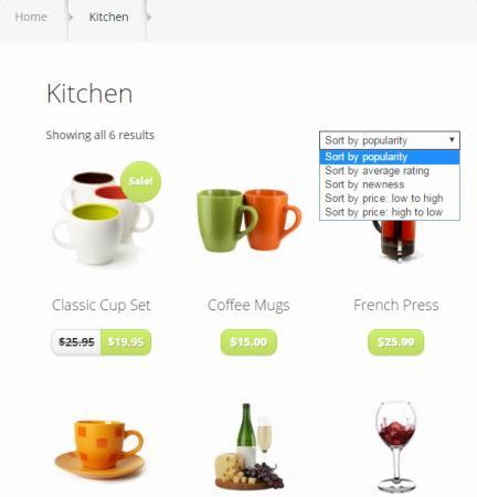 Shop Category Page - StyleShop