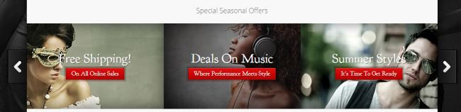 Special Offers Carousel Slider - StyleShop Theme