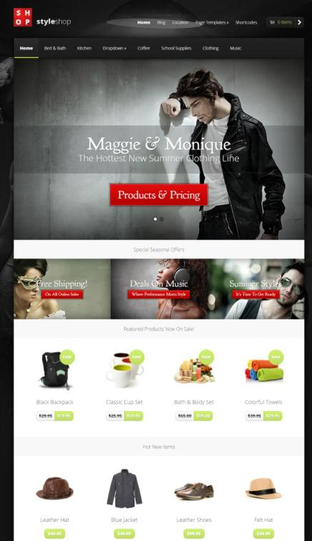 WordPress Themes  Auction