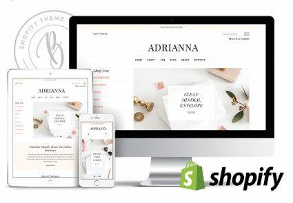 Adrianna - Responsive eCommerce Theme
