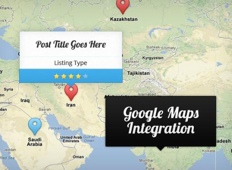 Explorable Listing Preview with Google map