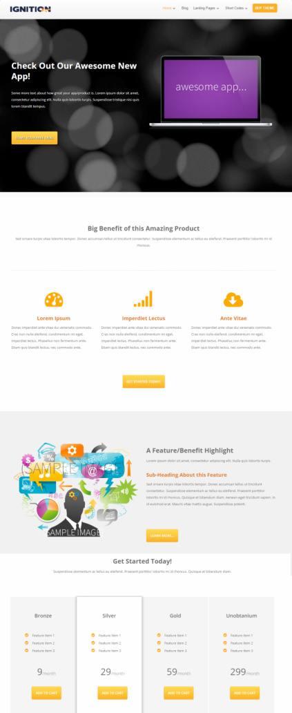 Ignition Thrive Themes : Marketing / WordPress Blogging Theme