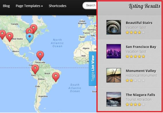 Map Listing Preview - Explorable Frontpage