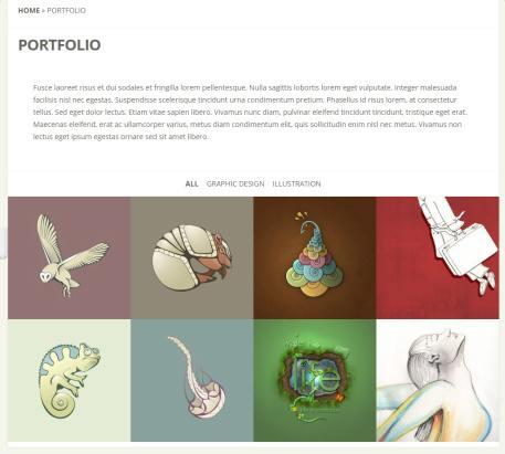 Portfolio Gallery Listing Page - Flexible Elegant Themes