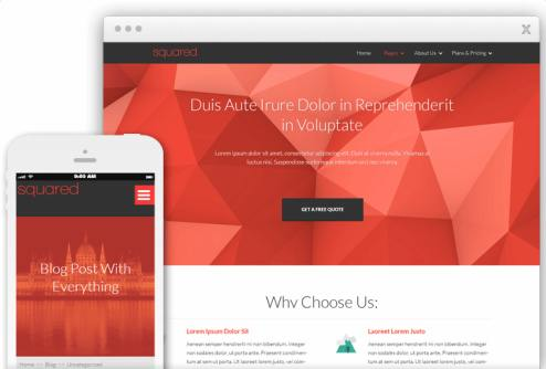Squared Thrive Themes Review Demo - Responsive Blog Marketing Theme for WordPress