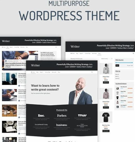 Writer MyThemeShop - Multi-Purpose WordPress blog theme for writers