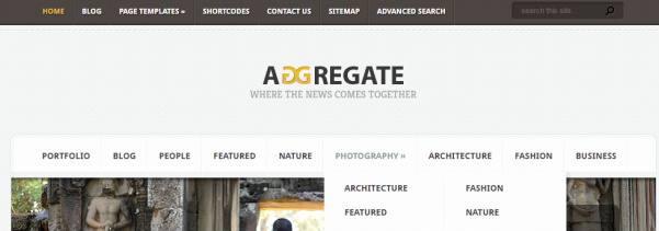 Aggregate Header Preview