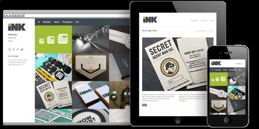 Ink Responsive Demo Preview