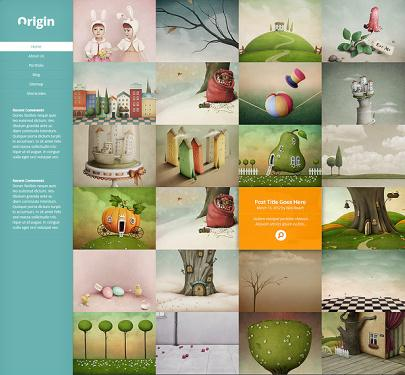Origin Demo - Elegant Themes Blog Gallery Theme