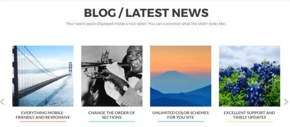 Blog section - Zerif Pro ThemeIsle