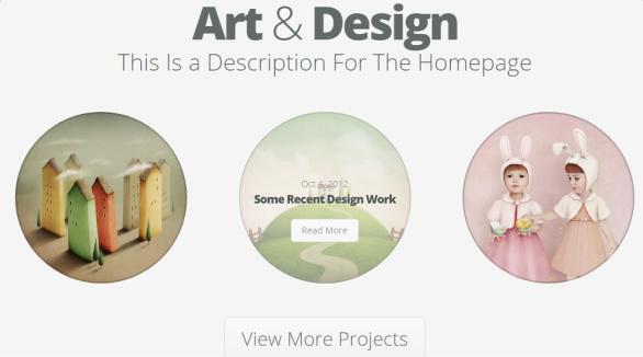 Project Section - Nimble Portfolio