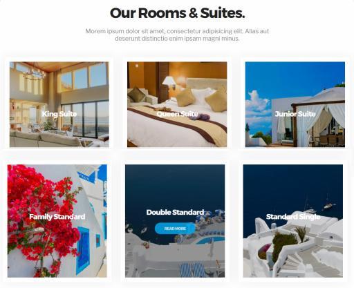 Rooms Suites Page - Milos CSSIgniter