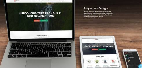 Zerif Pro Responsive Business Theme