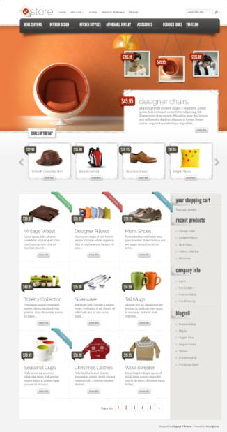 eStore eCommerce WordPress Theme - Elegant Themes