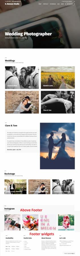 Benson WordPress Portfolio / Gallery Theme : CSSIgniter