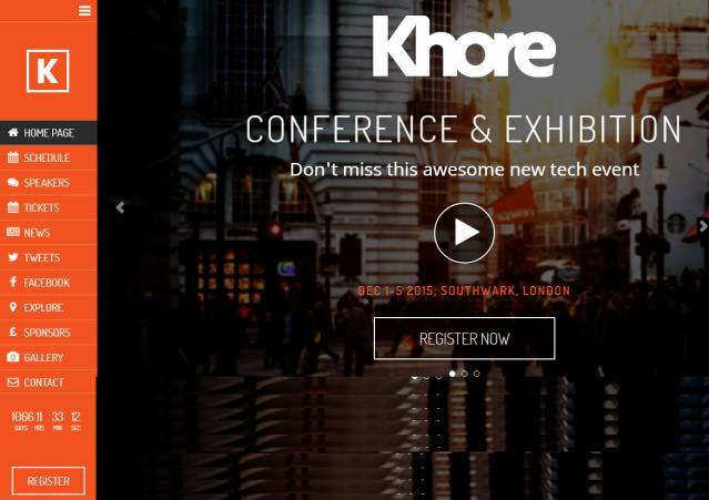 Khore Showthemes : Best Responsive Event WordPress Theme