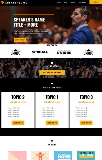Speakersumo Review - Event Theme by Showthemes | WORTH ?