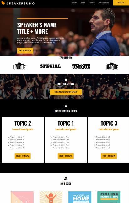 Showthemes Speakersumo Demo :  Best Event WordPress Theme