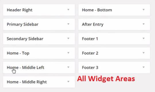 Widget Areas - Metro Pro StudioPress