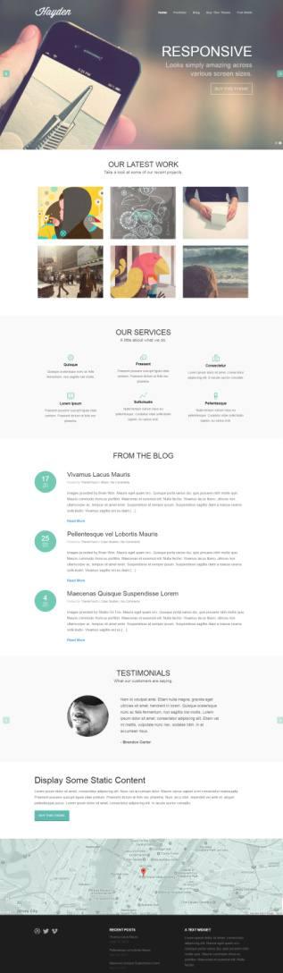 ThemeTrust Hayden : Agency Business WordPress Theme