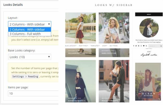 Looks Details Page - Olsen CSSIgniter
