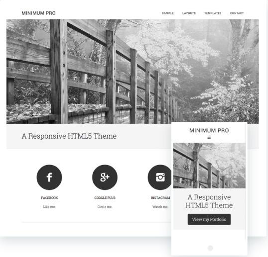 Minimum Pro StudioPress : Genesis Blog WordPress Theme