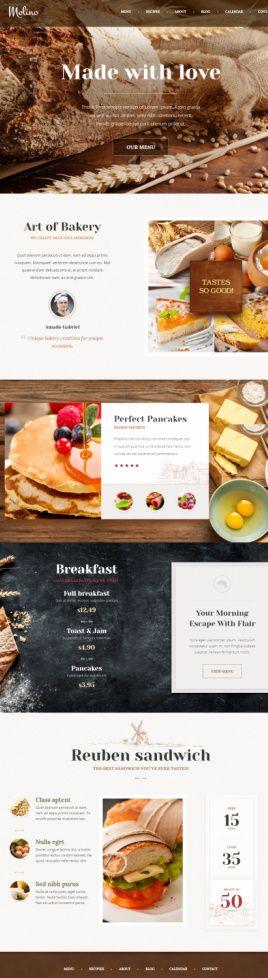 Molino ThemeFuse : The Core Restaurant / Food Blogging Theme