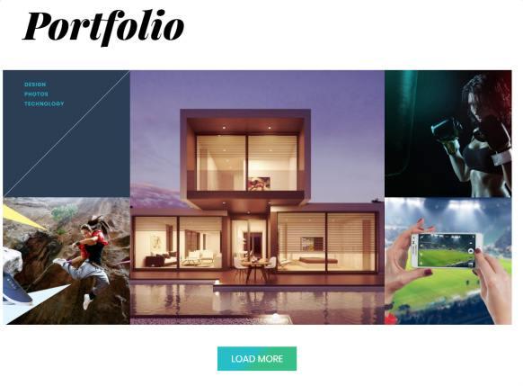 Portfolio Filterable - Float Themify