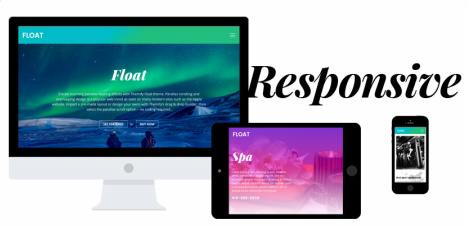 Responsive Business Portfolio Theme - Float