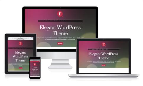 Responsive Business Template - MH Elegance