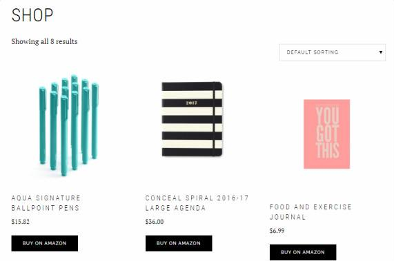 WooCommerce Shop Page - Boss Pro