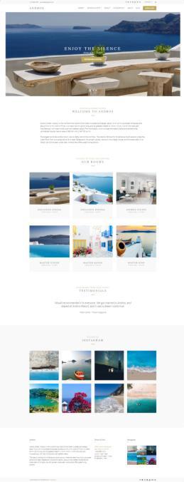 Andros WordPress Hotel/Resort Theme : CSSIgniter