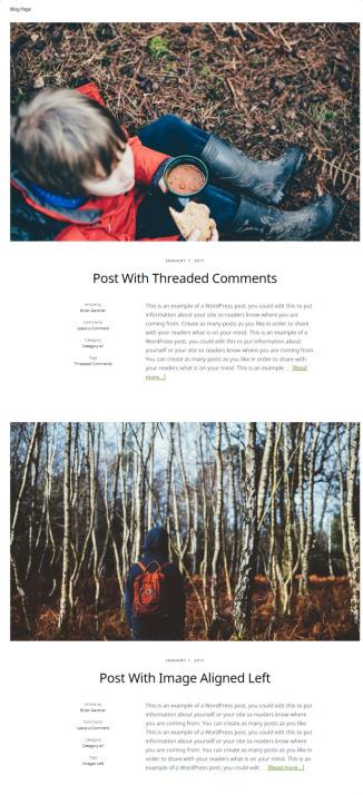 Blog page with Featuerd Images - Outfitter Pro