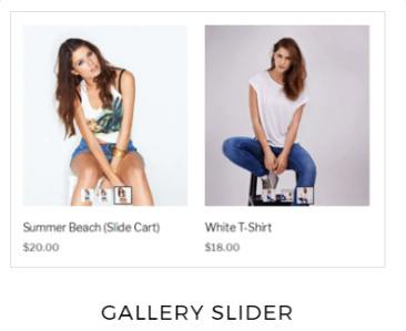 Gallery Slider - Shoppe