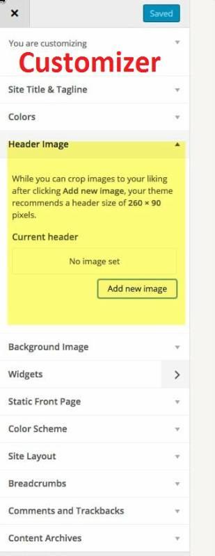 News Pro Customizer Options