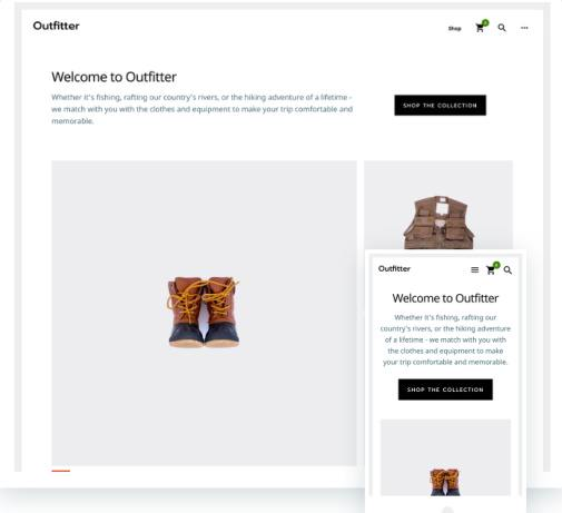 Outfitter Pro : StudioPress eCommerce Genesis WordPress Theme