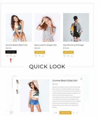 Quick Look - Shoppe WooCommerce Theme